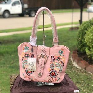 Montana West Pink Tote Bag NWT